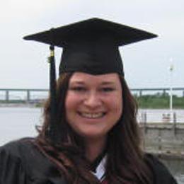 student at graduation