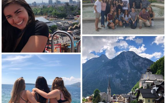 student travelling in europe with friends