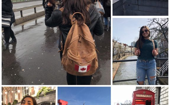 student travelling europe
