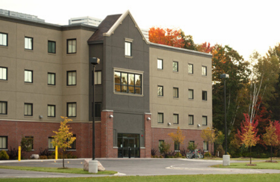 front view of univesity residence