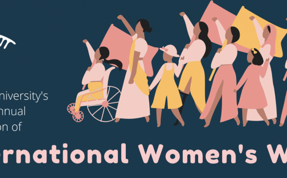 international womens week banner