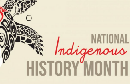 National Indigenous History Month Banner
