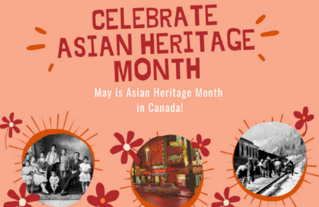 Celebrate Asian Heritage Month Banner
